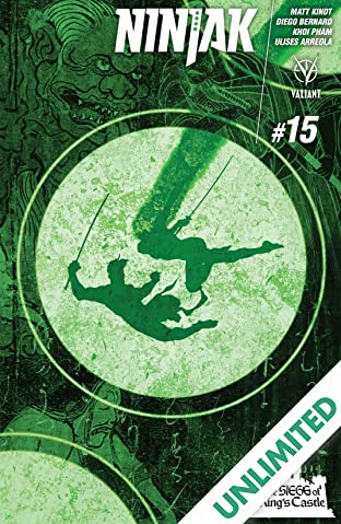 Ninjak (2015- ) #15: Digital Exclusives Edition